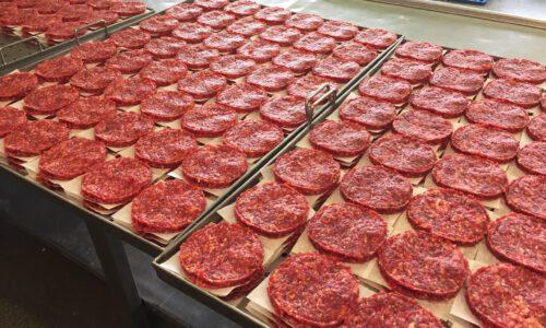 Herstellung von Bioburgern