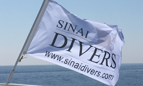 Sinai Divers Fahne